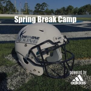 Spring break football camp, spring camps, kicker and snapper training